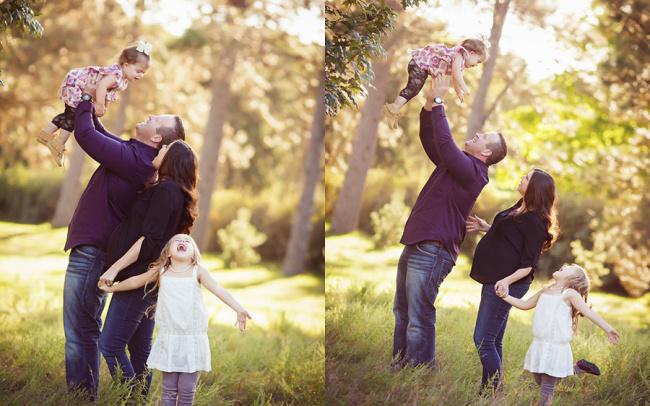 Seward Nebraska outdoor family photo session