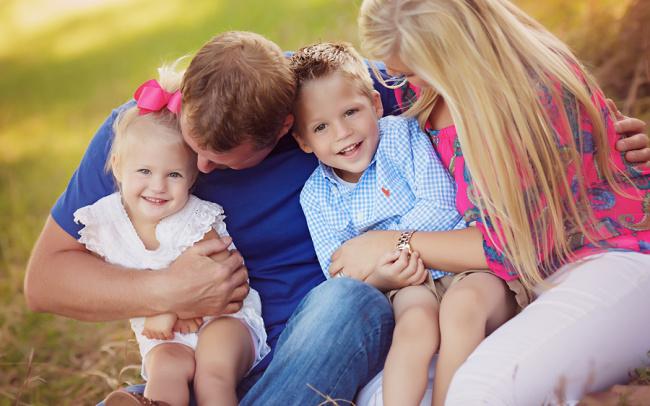 Wahoo Nebraska outdoor family photos