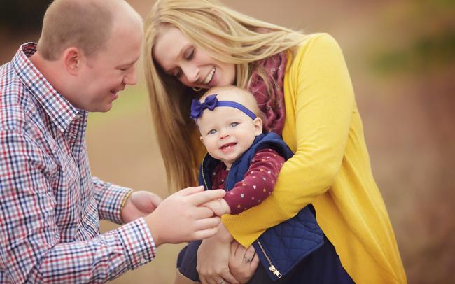 seward ne outdoor family photos