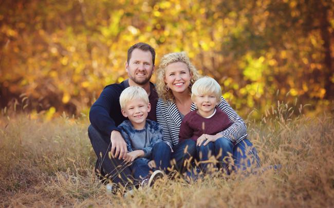 Omaha Nebraska family portraits