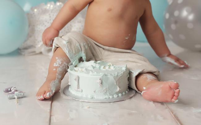 lincoln ne first birthday session