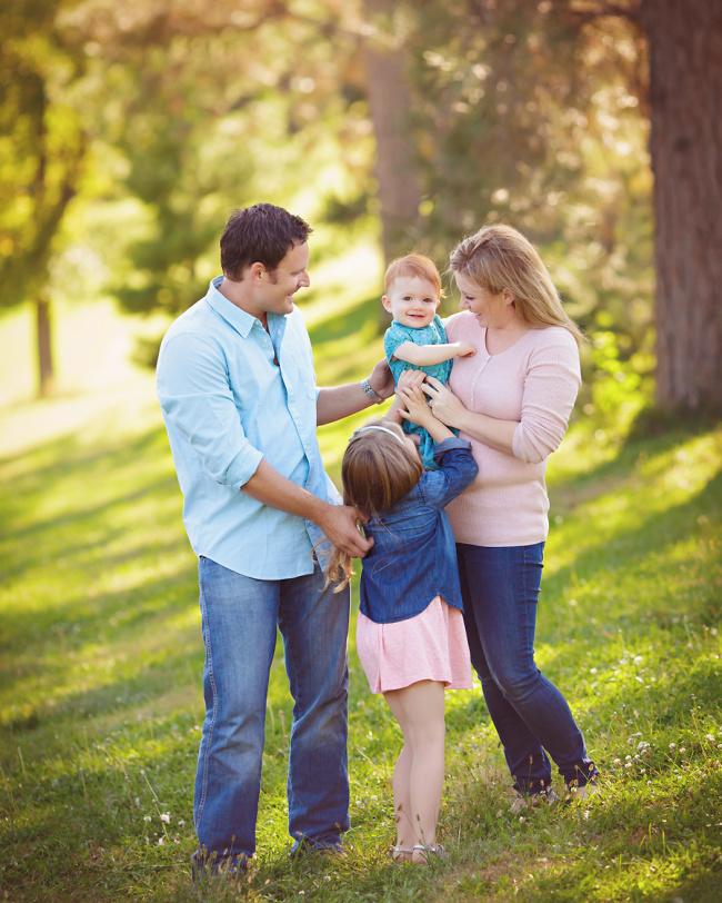 family photos in Omaha Nebraska