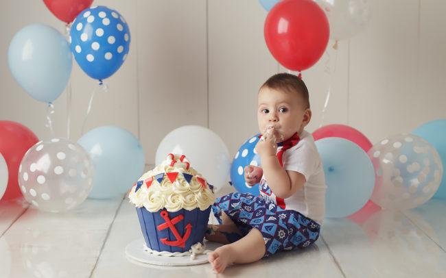 lincoln nebraska cake smash photos