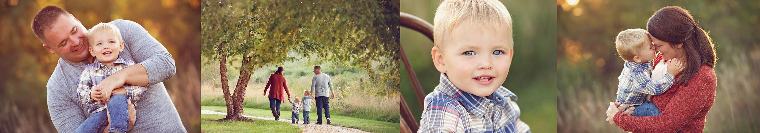 outdoor family photos in lincoln ne