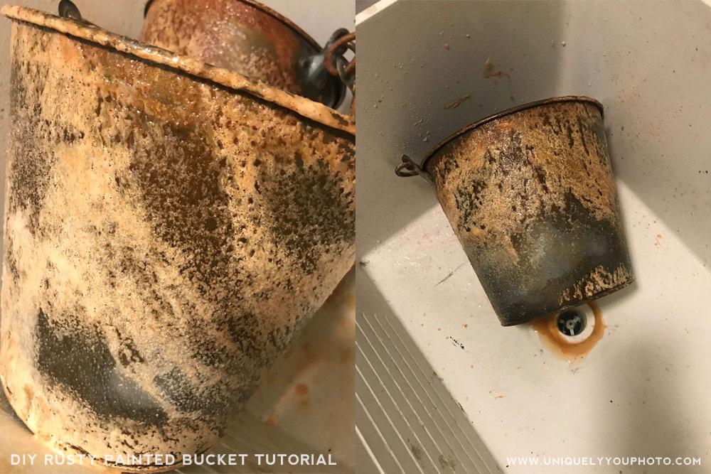 how to rust metal diy