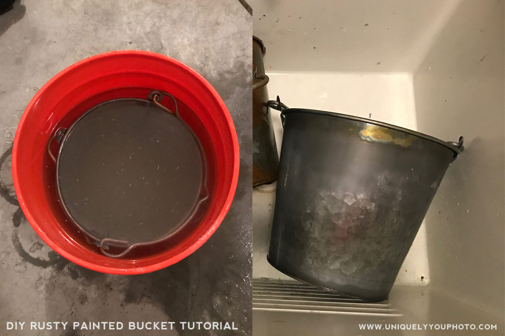 rusty bucket tutorial