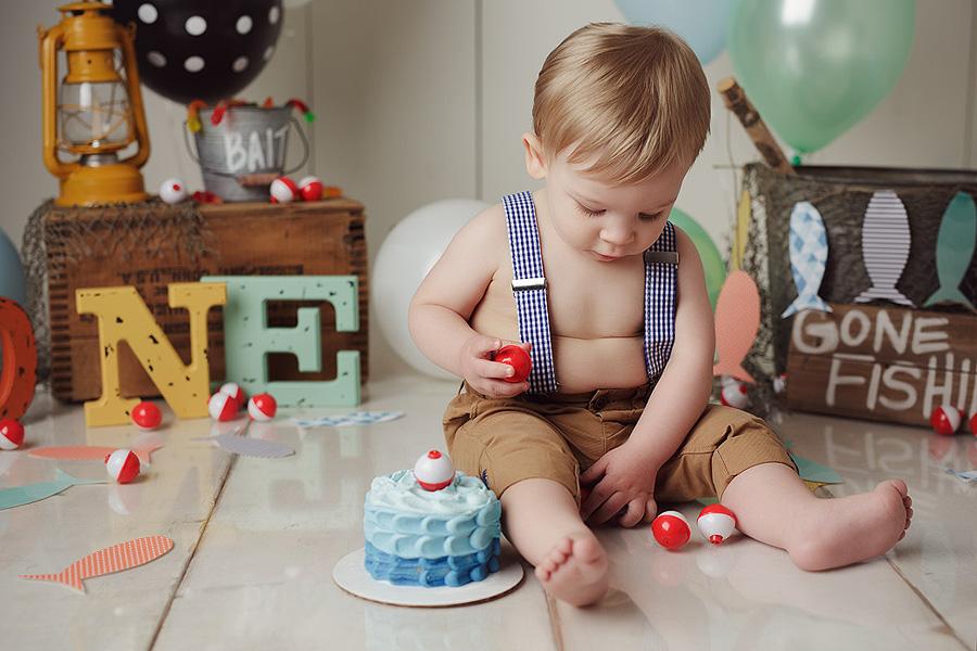 Cake Smash Portfolio | Lincoln Nebraska Newborn Baby Child