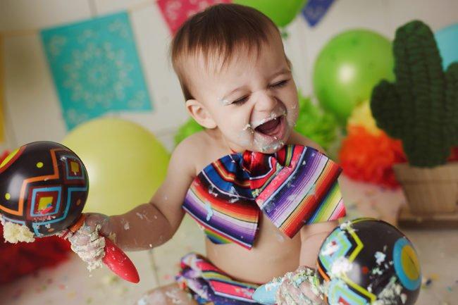 fiesta cake smash session lincoln nebraska