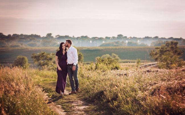 outdoor maternity session lincoln nebraska