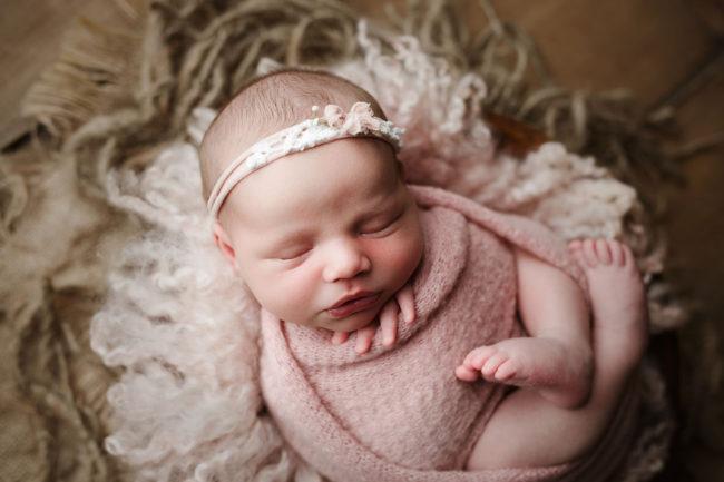 lincoln ne newborn photo session