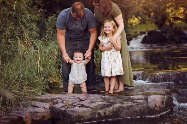 lincoln nebraska fall family portraits