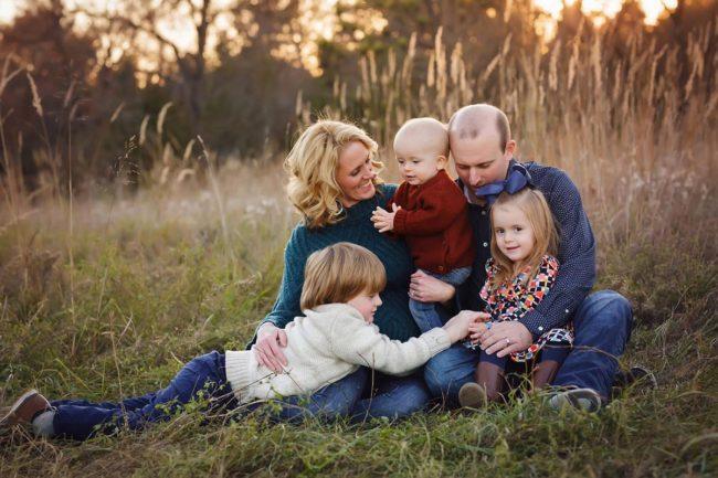 lincoln nebraska fally family photo session