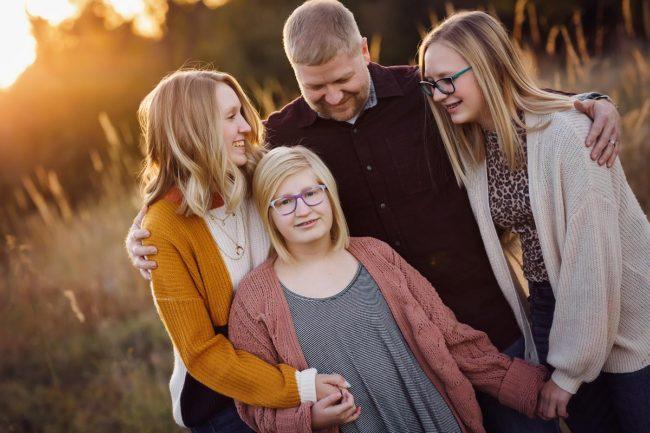 lincoln nebraska family photography outdoor sunset