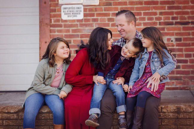 lincoln nebraska outdoor family photo session