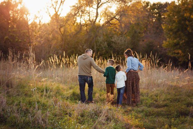 lincoln nebraska outdoor family photographer
