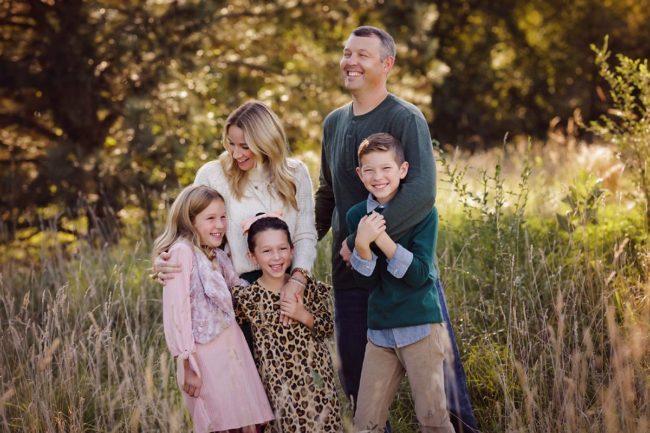 outdoor family photo session lincoln nebraska